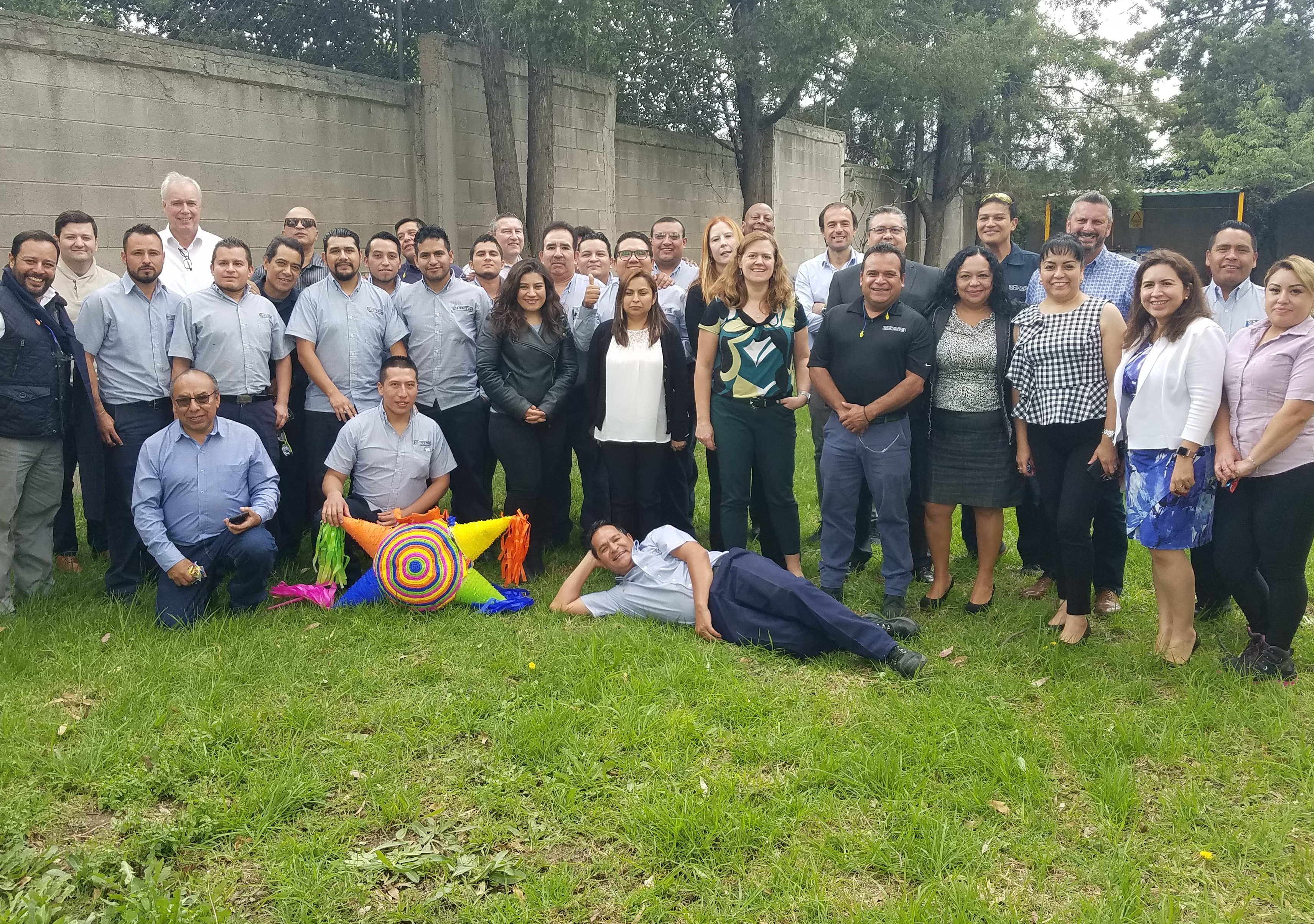 Hi-Cone Mexico Team Recognized for Safety Programs & Zero Accident Record