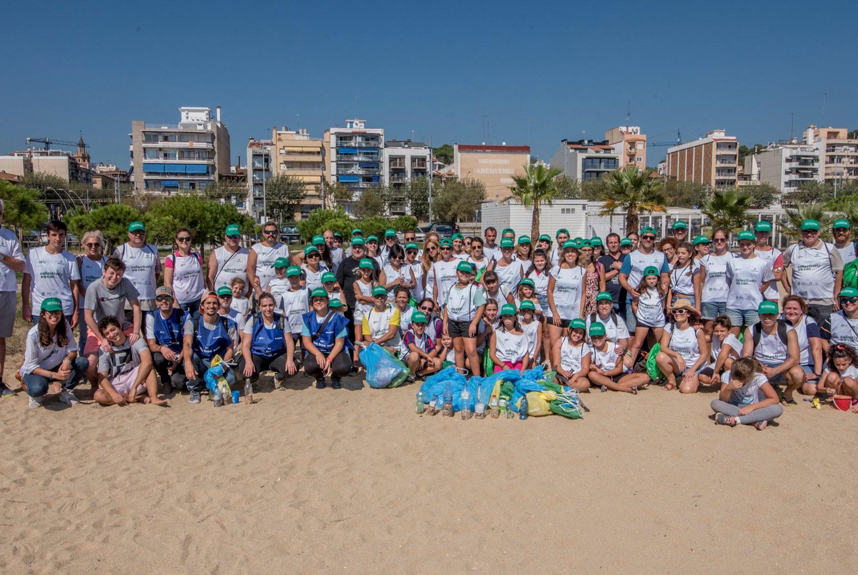 International Coastal Cleanup Barcelona, Spain