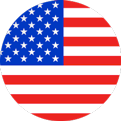 American Flag Language Icon